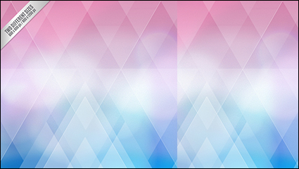 Dream geometric background vector material