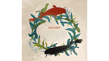Creative Koi and Aquatic Rings