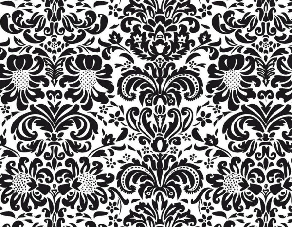 European fine patterns 04 - vector