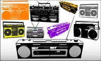 Variety of radio vector material