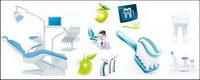 Vector icon about dental surgeon