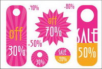 Price discount tags