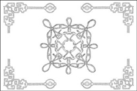 Chinese classical vector of the material 21