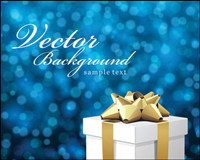 Presents the background Fantasy Vector