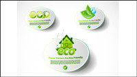 Environmentally friendly low-carbon living icon vector material -1