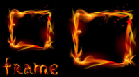 Flame effects 03 - vector material