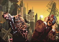 Doom City Vector material
