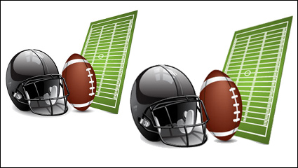 Sports equipment vector material -04