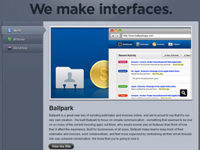 MetaLab web interface design team home page
