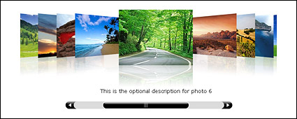 photoFlow AS3 display of the thumbnail picture effects